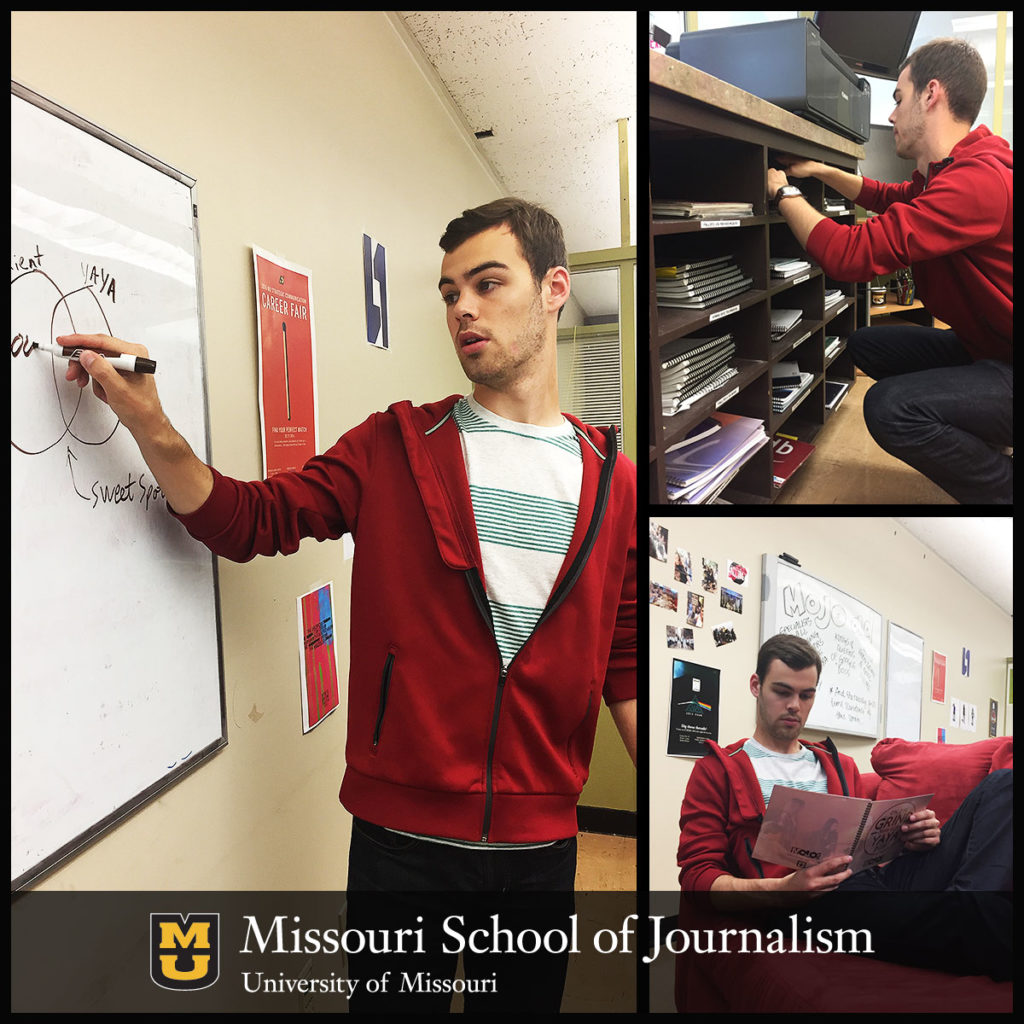 Strategic Communication Senior Clayton Conness at MOJO Ad
