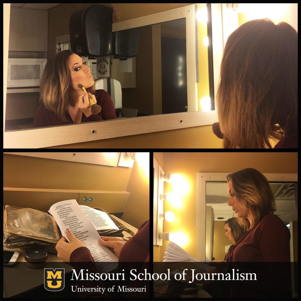 Radio-Television Journalism Senior Lauren Barnas