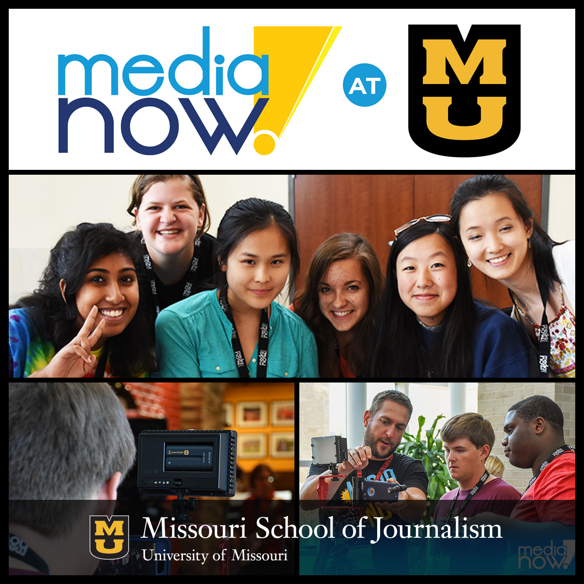 Registration Now Open for Media Now Mizzou, June 23 to 26, 2017.