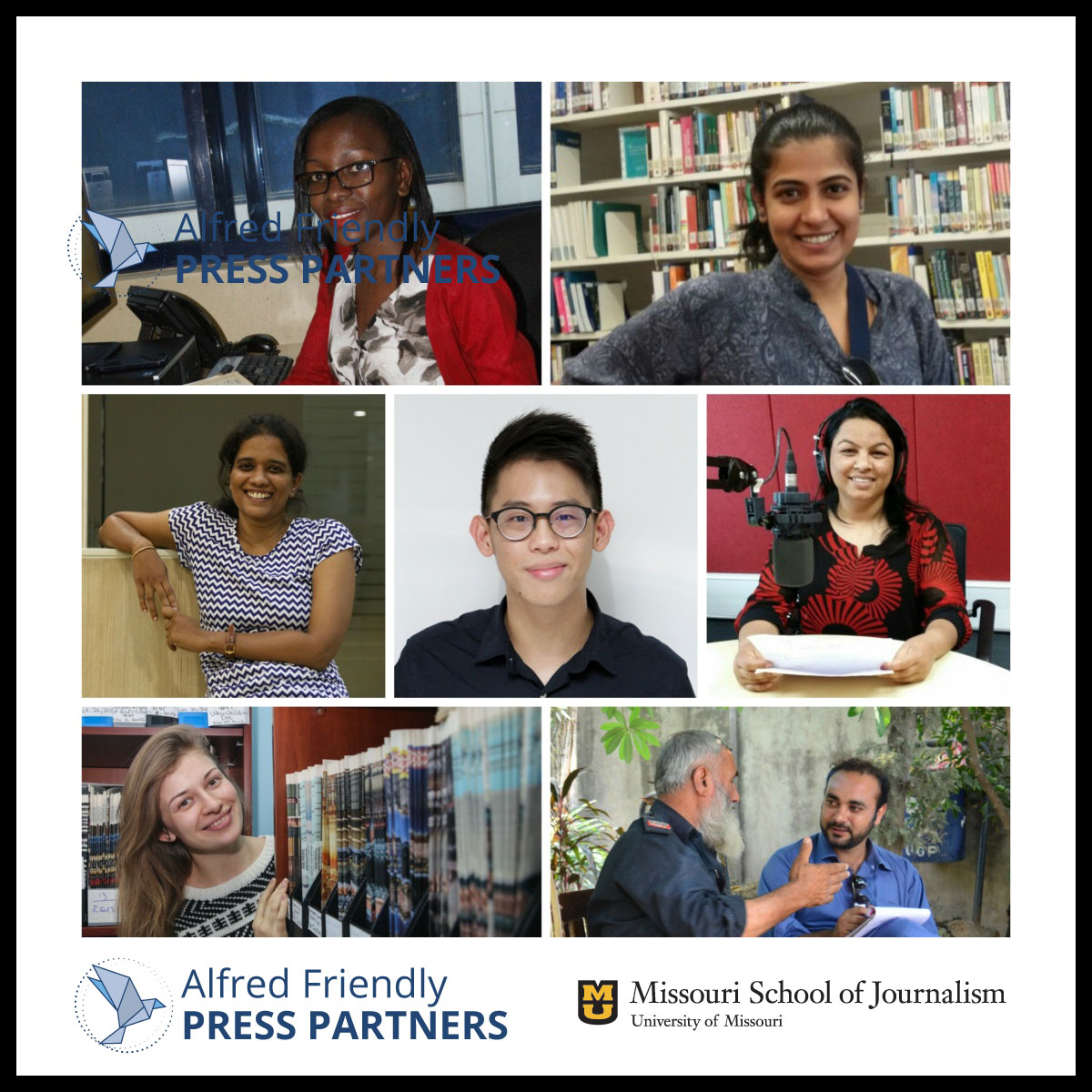 Alfred Friendly Press Partners Fellowship Program Class of 2017