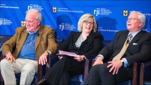 Mike McCurry, Barbara Cochran and Ed Rogers