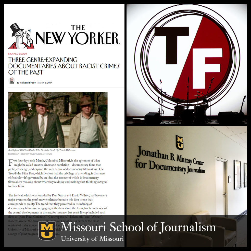 The Jonathan B. Murray Center for Documentary Journalism at the Missouri School of Journalism