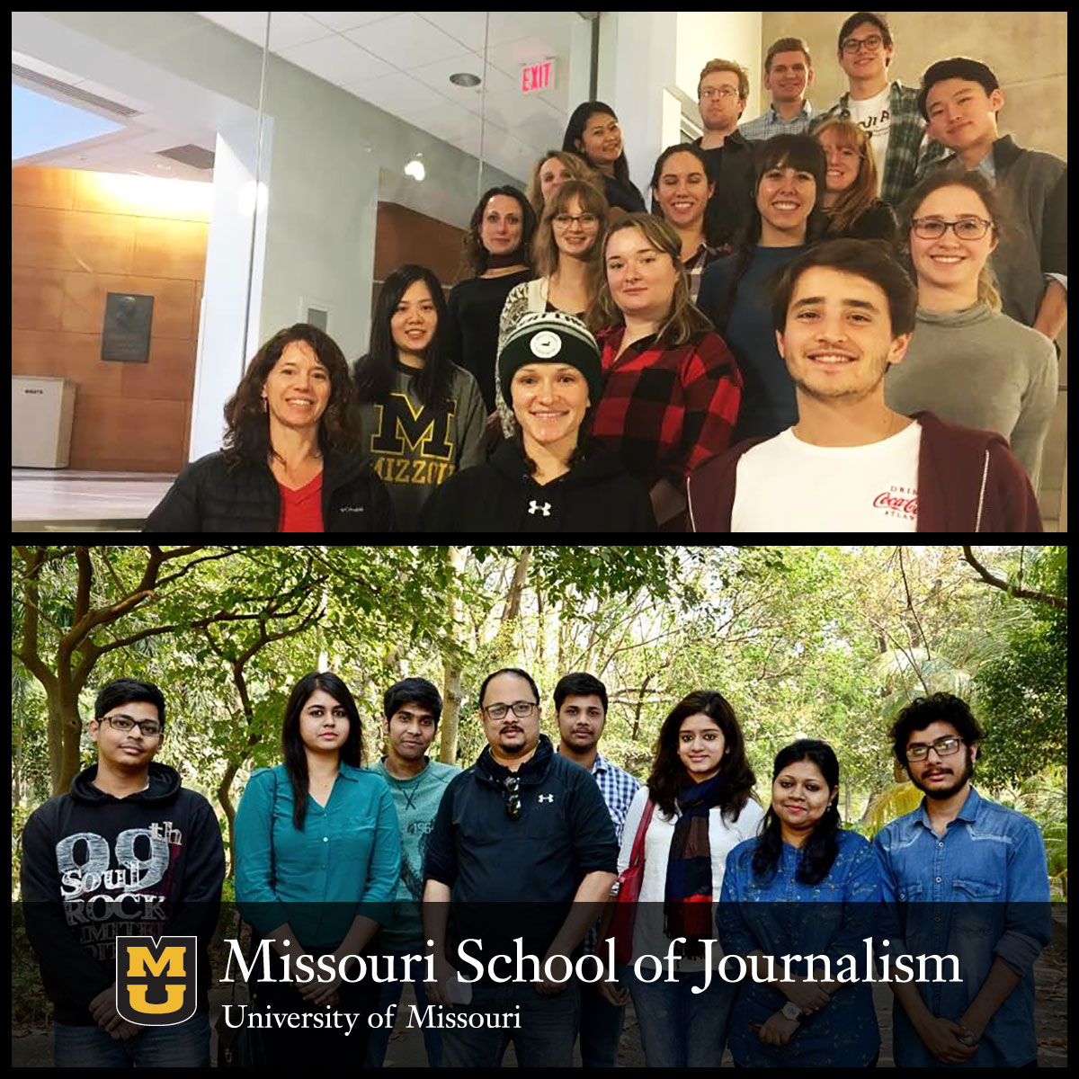 Missouri School of Journalism students and faculty have formed a unique international journalism partnership with journalism students in India.