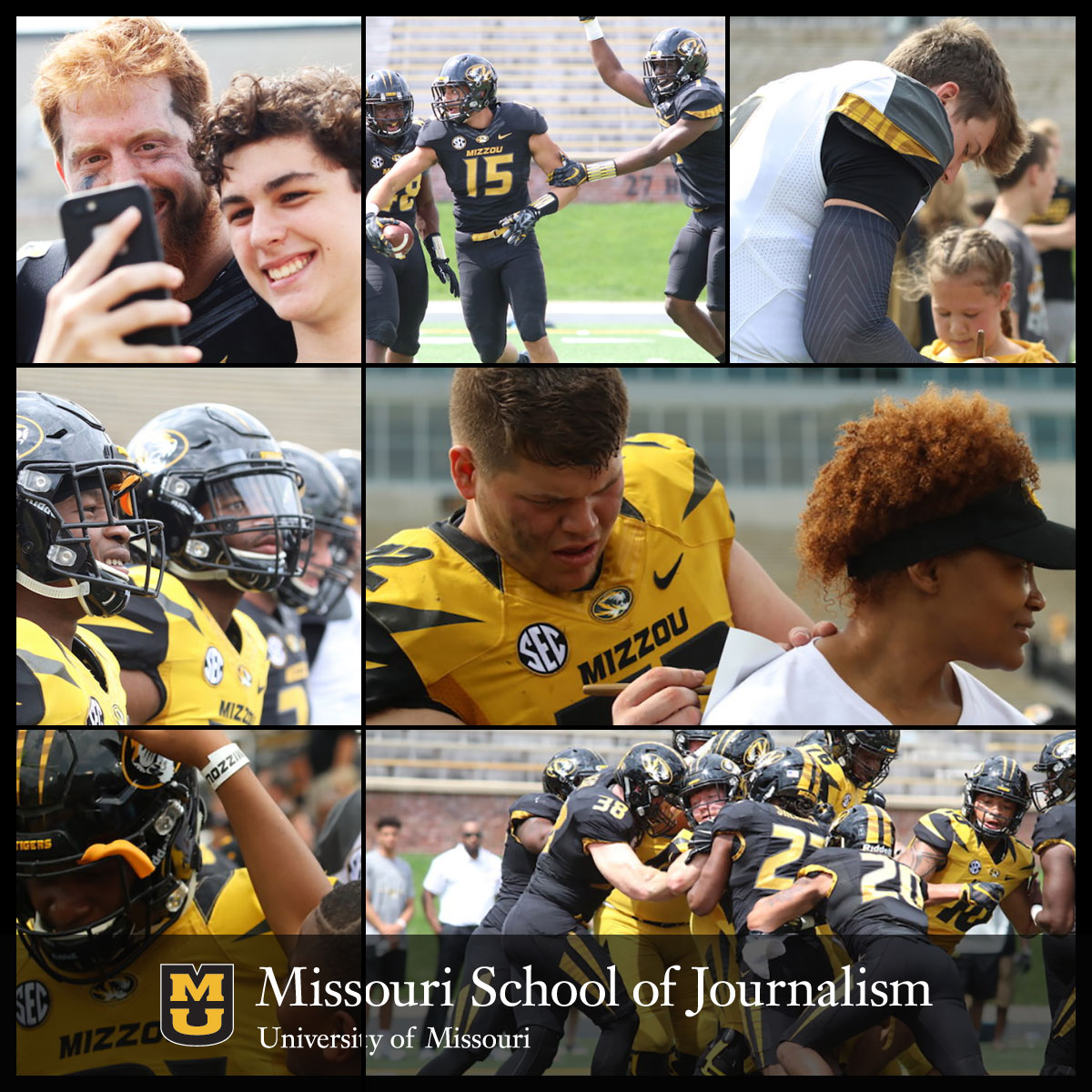 At the Missouri School of Journalism, students have many media outlets available to cover all aspects of sports. (Photos: Lexi Churchill.)