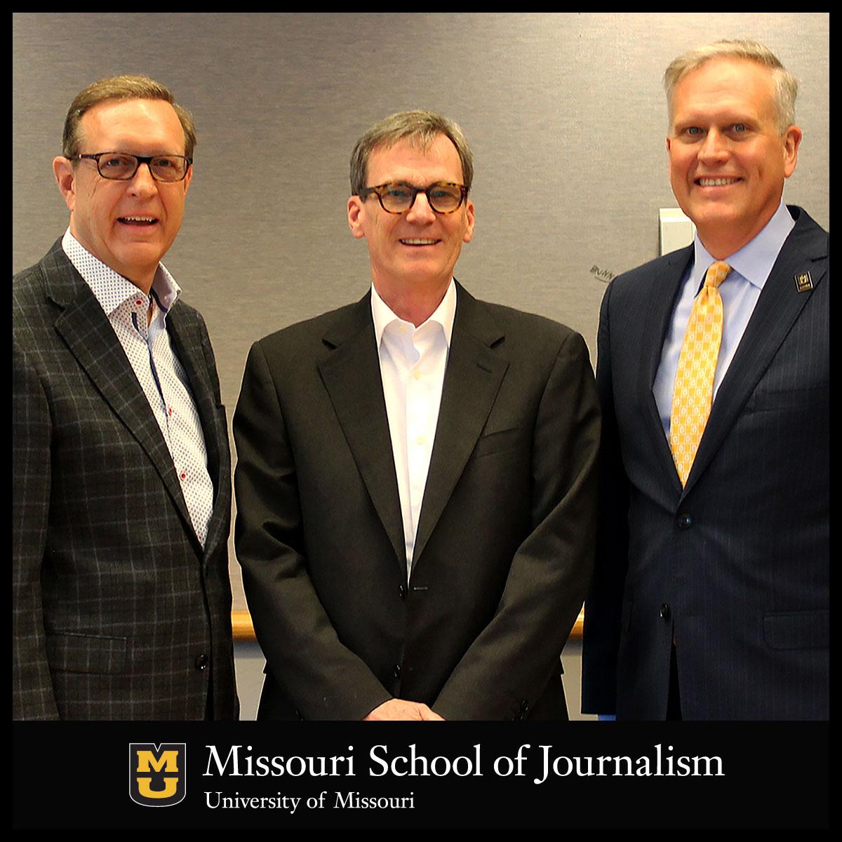 Steve Graham, Berkley Hudson and Dean David Kurpius