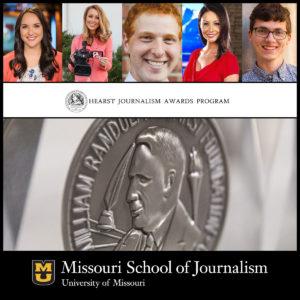 School of Journalism Places First in Hearst Intercollegiate