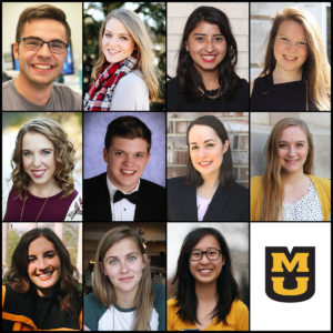 Jake Boeding, Tyler Anne Emery, Ana Perez, Jennifer Prohov, Lauren Puckett, Hughes Ransom, Madison Stanze, Rylee Stoulil, Rachel Tiedemann, Michaela Tucker, Swee-Yang Ashley Yong