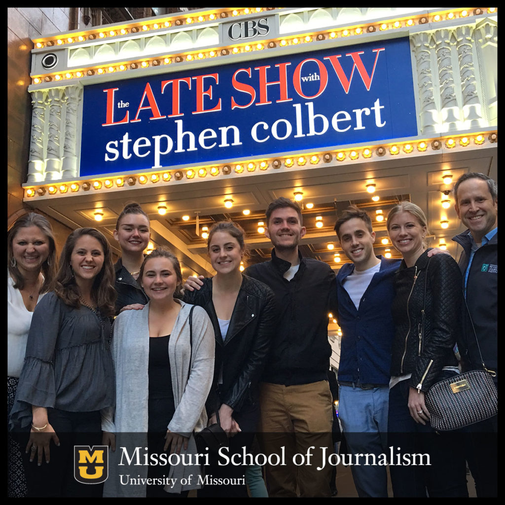 Students in New York Program Invited to Taping of 'The Late Show with Stephen Colbert'