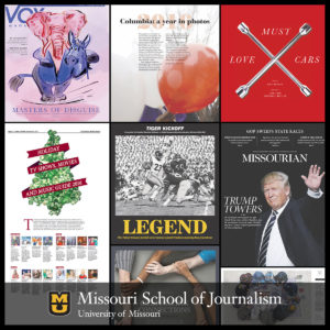 2017 SND College News Design Contest