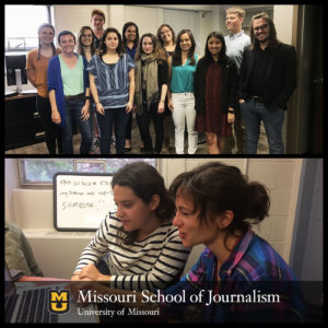 Radio Reporting Lab Offers New Learning Opportunity for Journalism Students