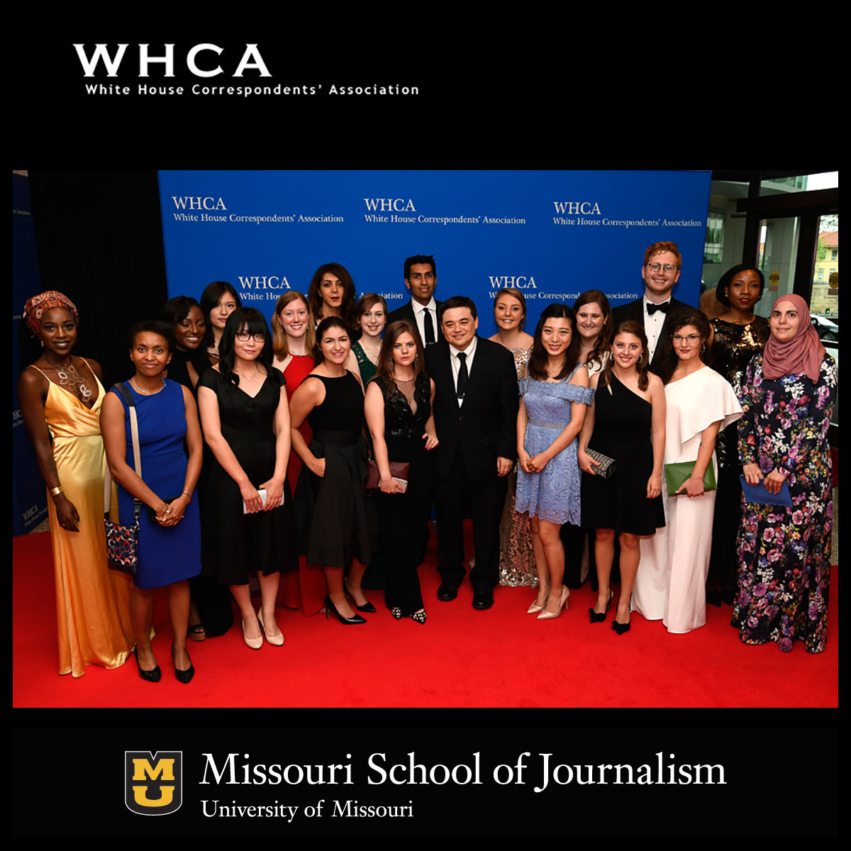 White House Correspondents' Association Scholarship Winners