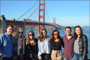 NLI Students at the Golden Gate Bridge