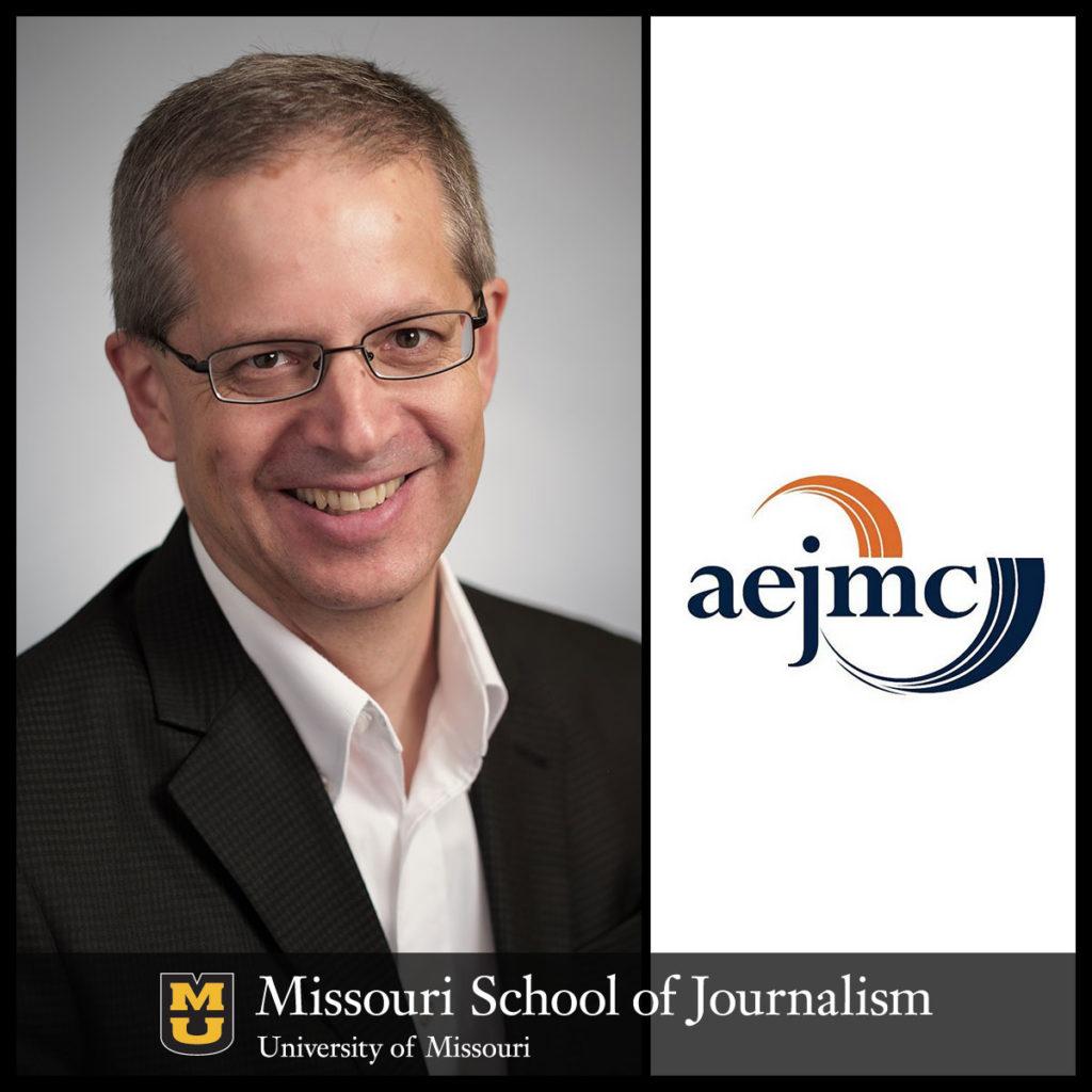 Tim Vos at AEJMC