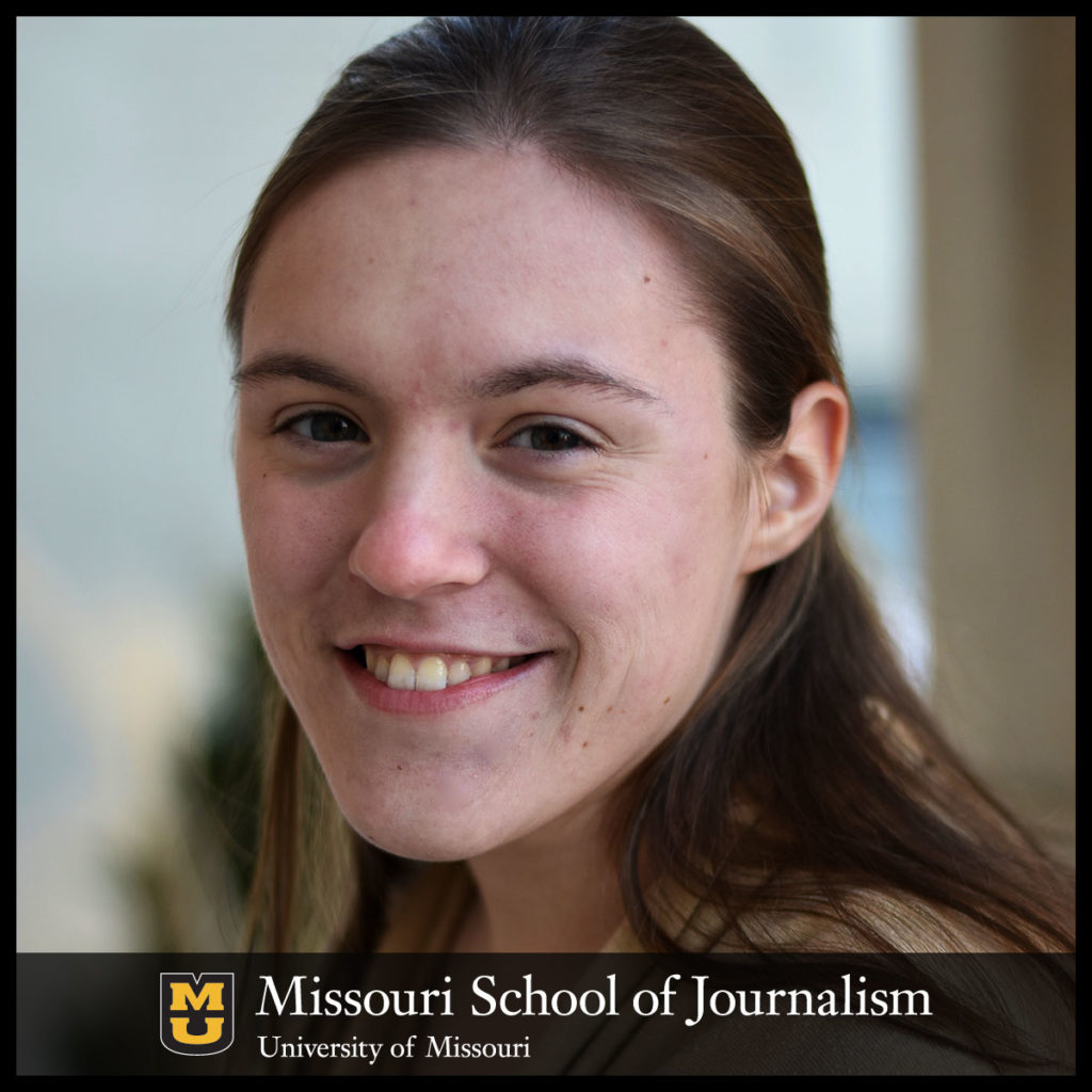 Anna Lewis journalism student takes deep dive into research, learns