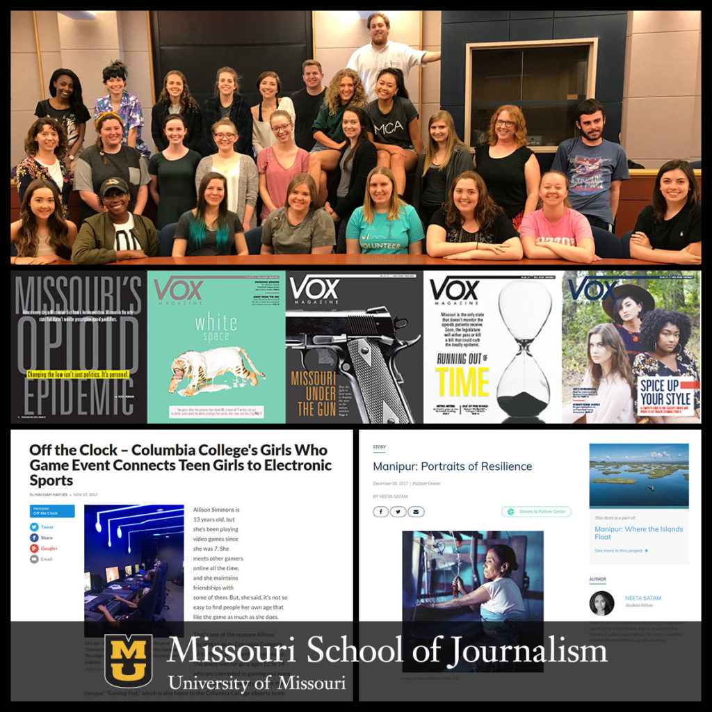 Society of Professional Journalists 2018 Mark of Excellence Awards