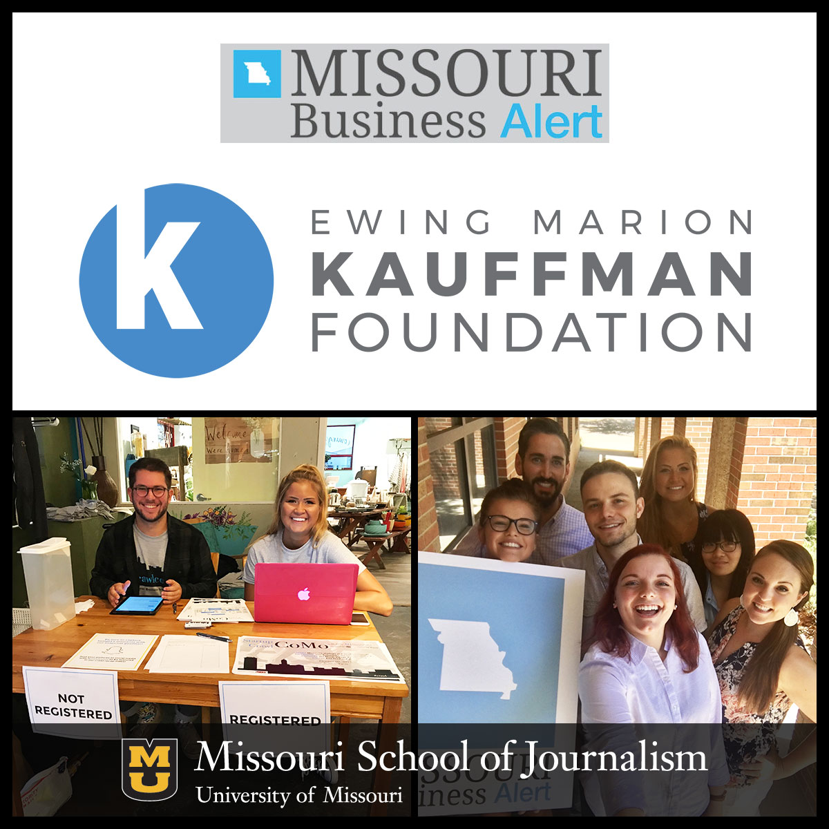 Ewing Marion Kauffman Foundation Awards $2K to Missouri Business Alert