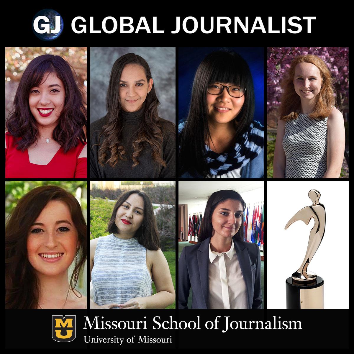 Aleissa Bleyl, Maria Fernanda Callejon, Jinghong Chen, Lily Cusack, Rachel Foster-Gimbel, Safiya Sadr, Denitsa Tsekova