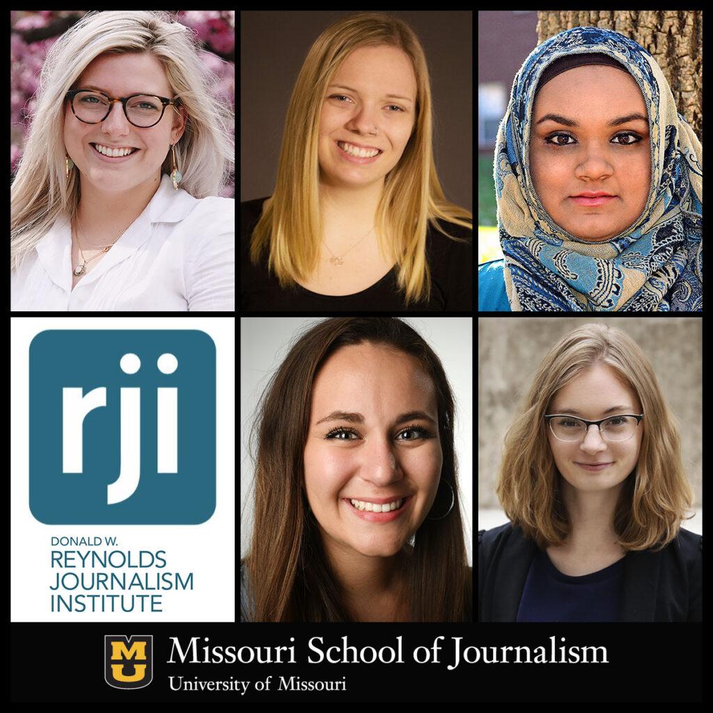Meg Cunningham, Kyra Haas, Humera Lodhi, Hannah Rodriguez, Rachel Thomas