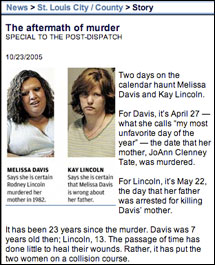 St. Louis Post-Dispatch: The Aftermath of Murder