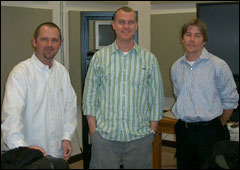 Marc Kempter, Jeff Graham and Steve Erich