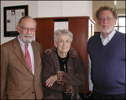 Warren Gould, Margaret Dent and Steve Weinberg