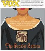 Vox Magazine Cover for Aug. 25, 2005