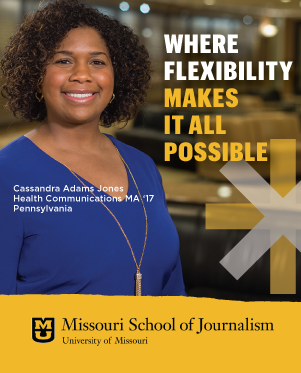 Online Journalism Degrees: Cassandra Adams-Jones