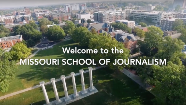 Welcome to the Missouri School of Journalism