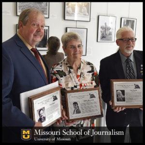David Rees, Thelma Blumberg and Dave Marner