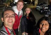 Jacob Cavaiani, Eric Graves, Mercedes Mackay and Hannah Thomas