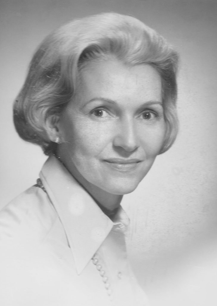 Elsie Dickson Barks, BJ '45