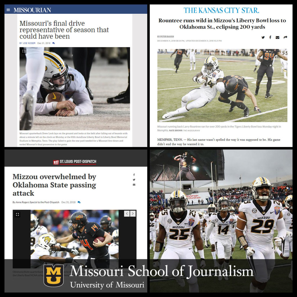 Journalism Students Provided Coverage Of Liberty Bowl To