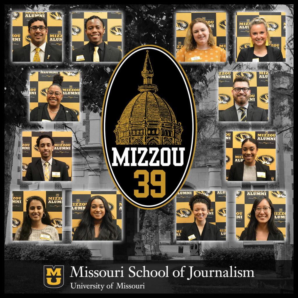 Mizzou Calendar February 2019 12 Journalism Students Selected for Mizzou '39 Honors   Missouri