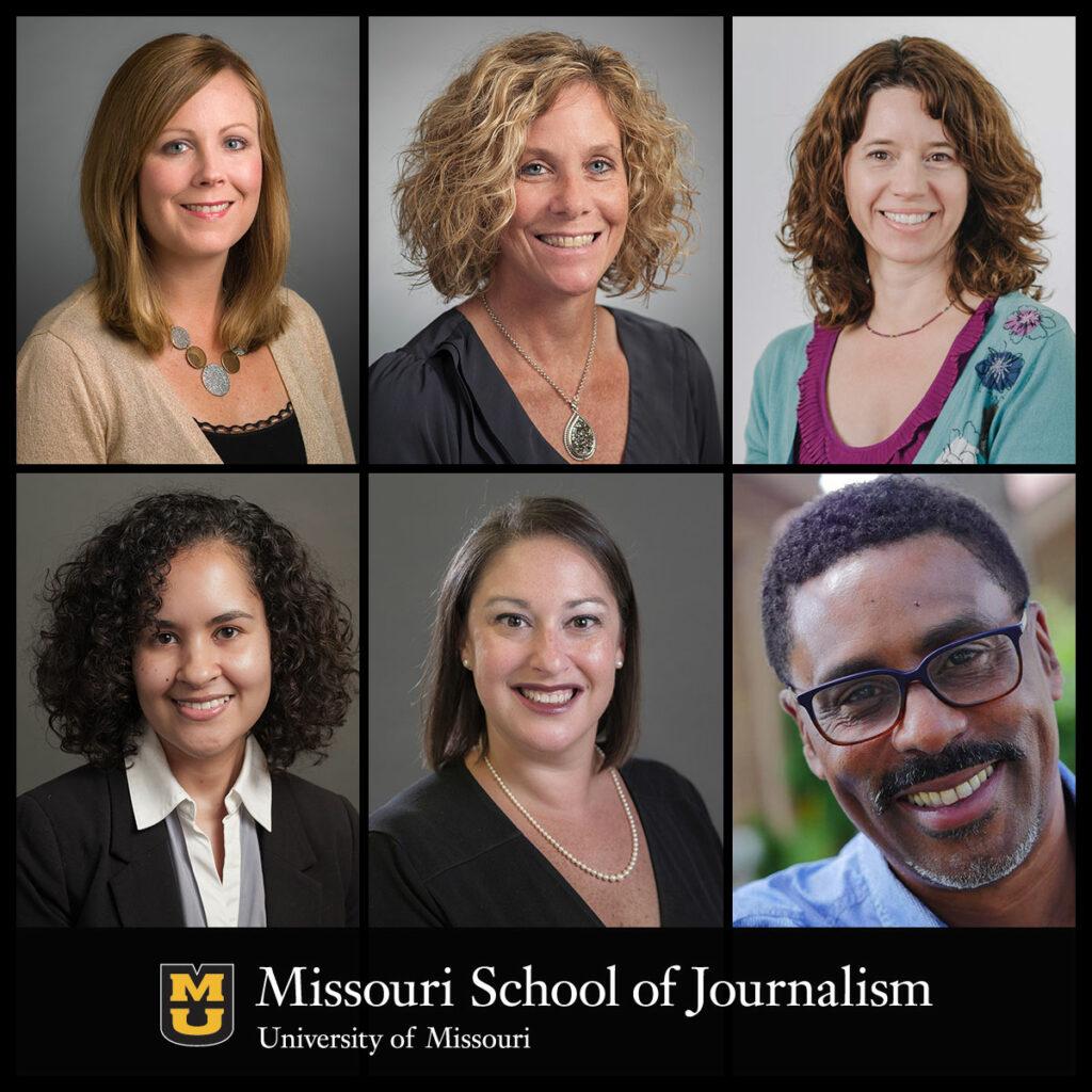 Elizabeth W. Frogge, Holly Higginbotham, Sara Shipley Hiles, Ron Stodghill, Amy Simons and Cristina Mislan
