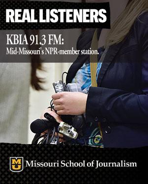 Real listeners: KBIA-FM 91.3, mid-Missouri's NPR-member station.