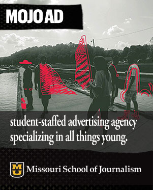 Real clients: MOJO Ad, a student-staffed advertising agency specializing in all things young.