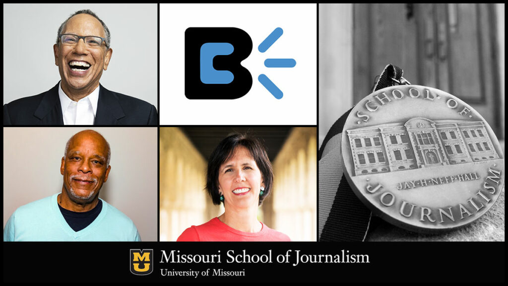 Dean Baquet, Burrell Communications Group, Stanley Nelson and Marina Walker Guevara, MA '05