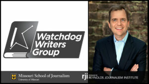 Christopher Leonard, Watchdog Writers Group