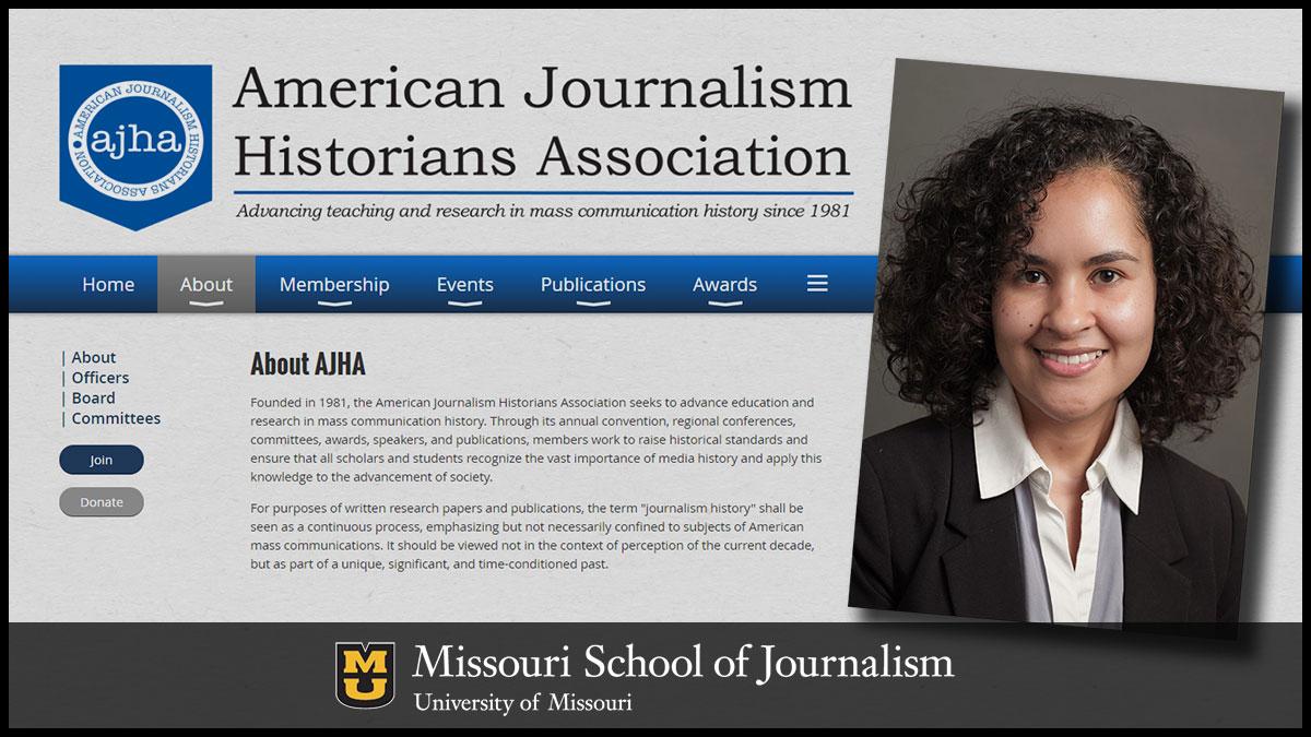 Cristina Mislan 2019 AJHA Rising Scholar Award