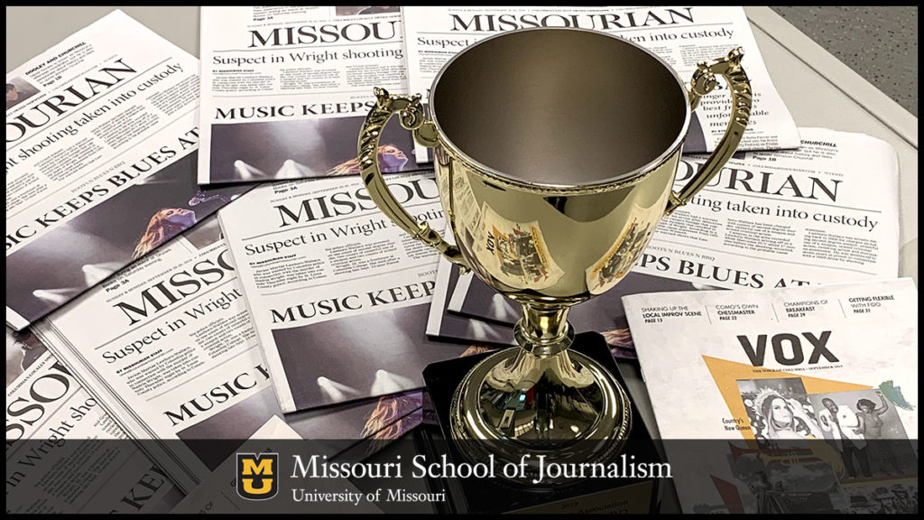 Columbia Missourian Won 64 Awards in the 2019 Better Newspaper Contest