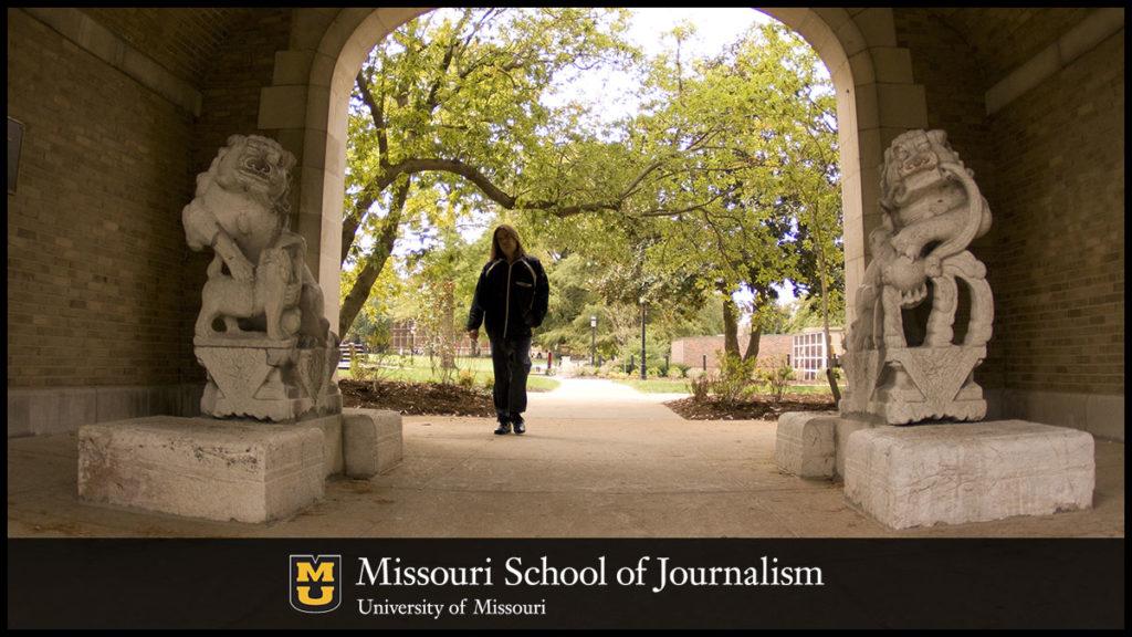 Missouri Journalism Archway