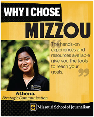 "Athena: ""The hands-on experiences and resources available give you the tools to reach your goals."""