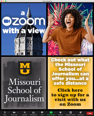 Schedule a Missouri Journalism Zoom Session