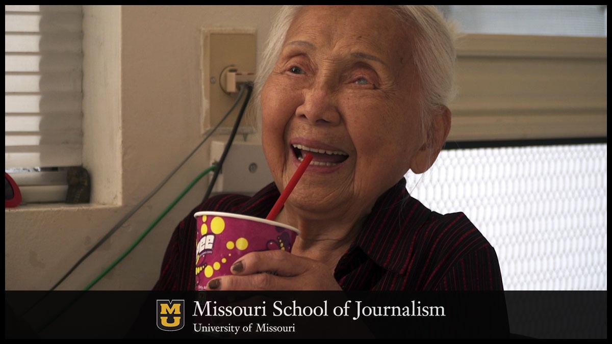 """Wyatt Wu's grandmother in the short film, """"Nai Nai."""""""