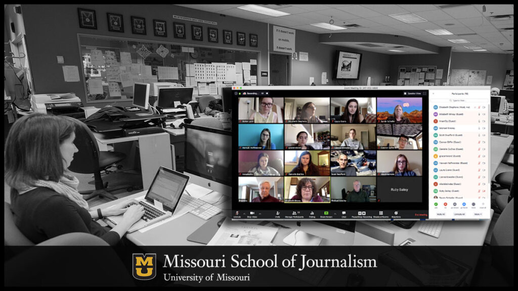 Columbia Missourian Remote Budget Meeting