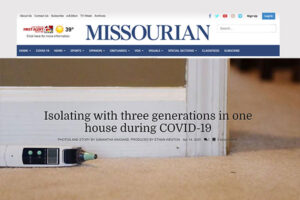 Columbia Missourian: Isolating with three generations in one house during COVID-19