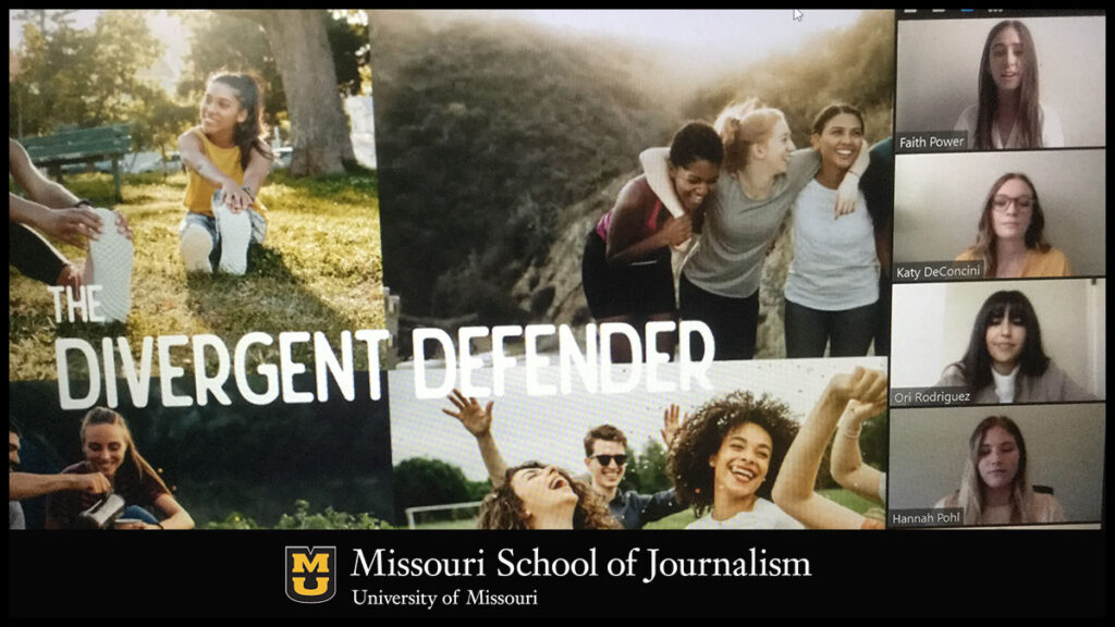 """MOJO Ad Spring 2020 Presentation: """"Divergent Defender"""""""