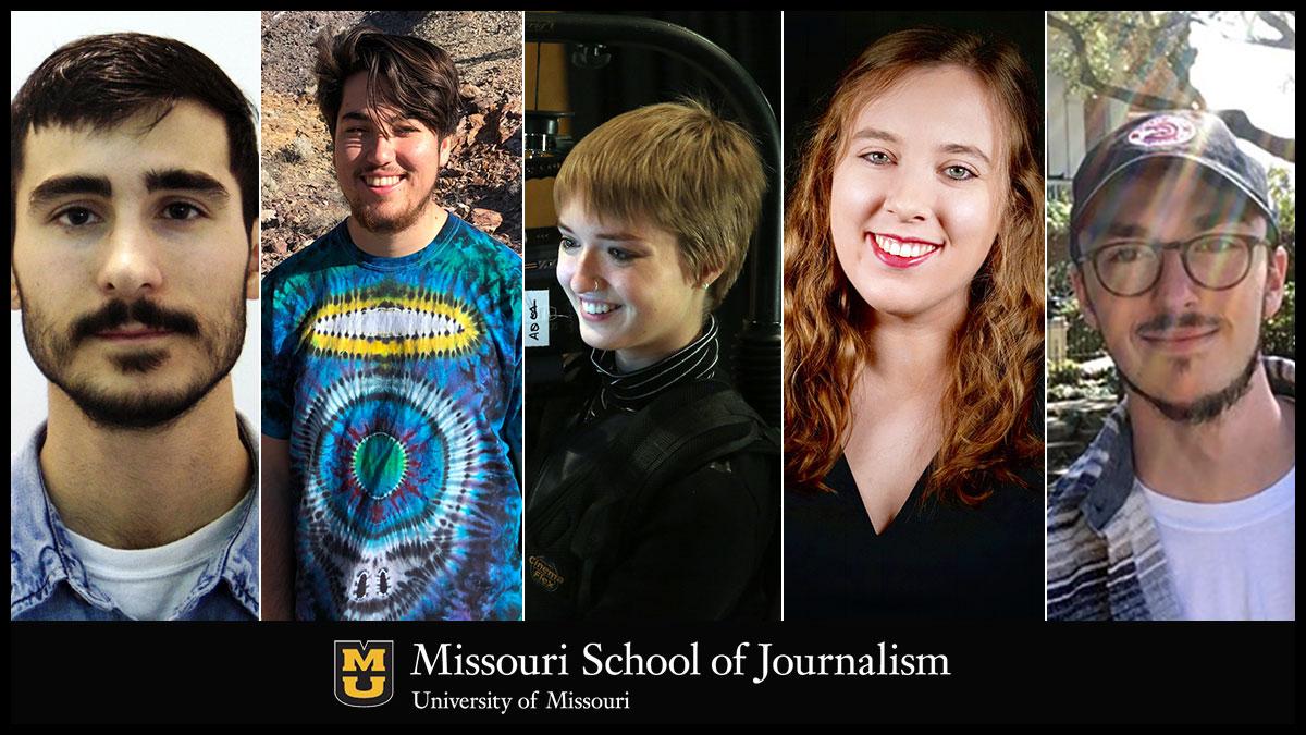 Nick Corder, Danny Stayton, Megan Liz Smith, Sarah Sabatke and Daniel Christian