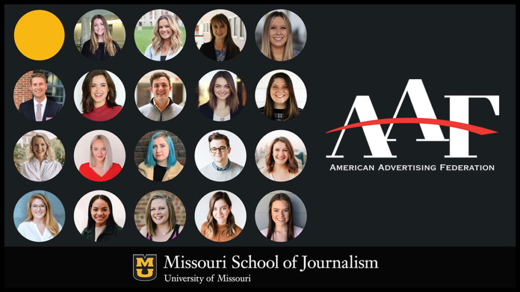 Mizzou 2020 National Student Advertising Competition Team