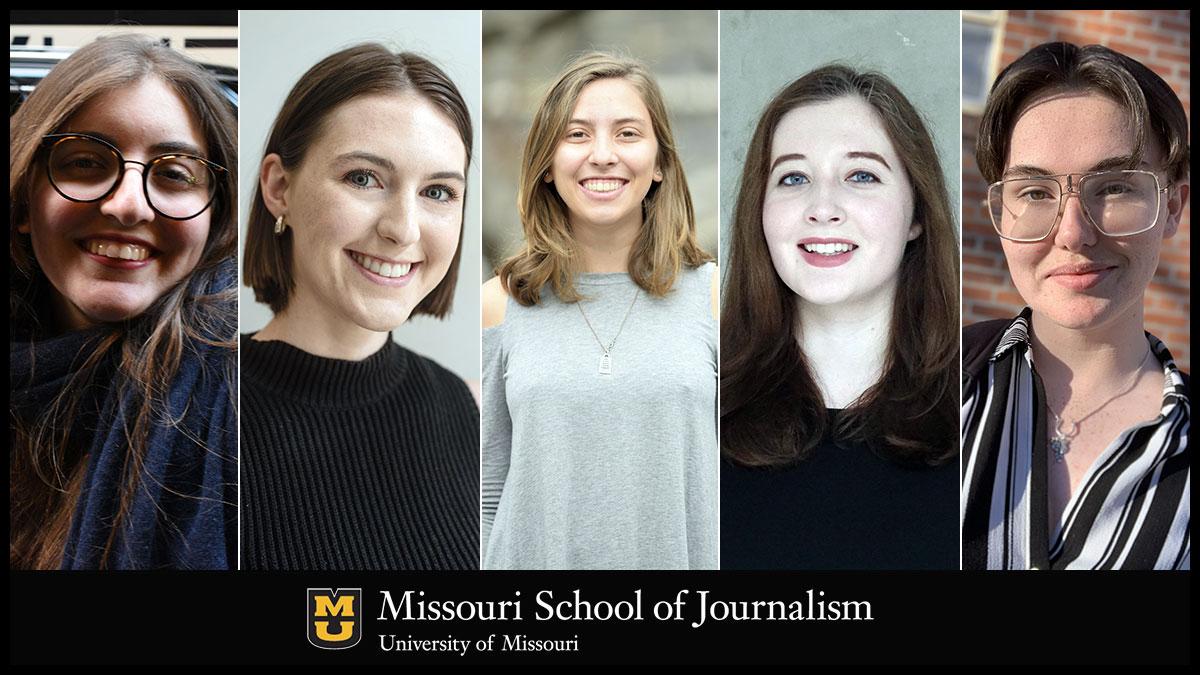 Mariana Labbate, Camille McManus, Gaby Morera Di Núbila, Sam Nelson and Emily Wolf